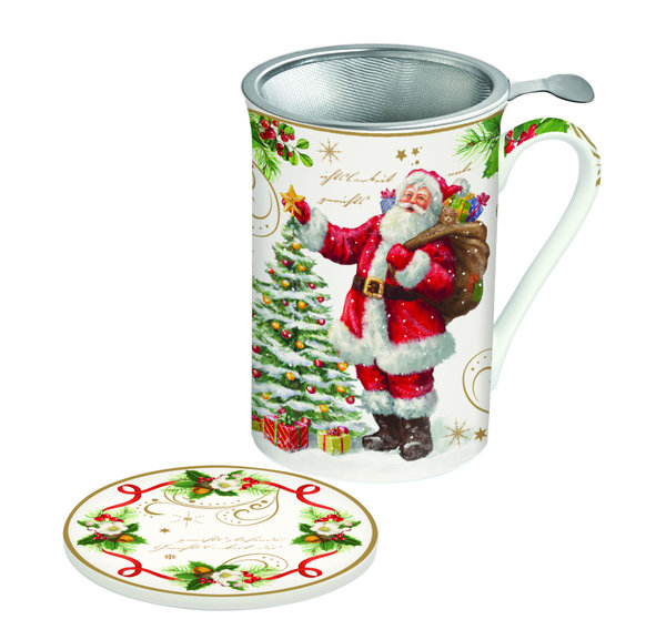 Easy Life, Magic Christmas Teebecher mit Sieb