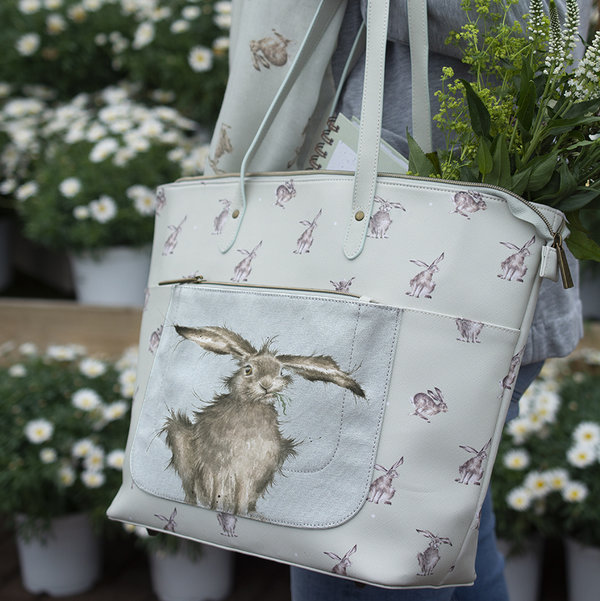 "Wrendale, Schultertasche ""Leaping Hare"""