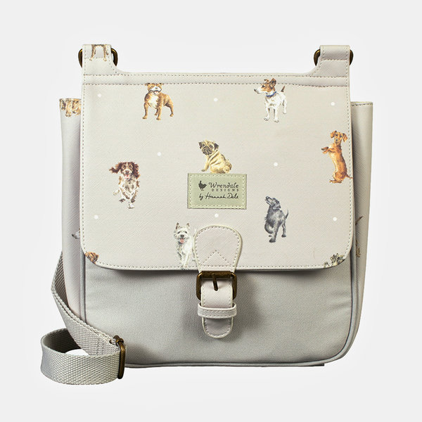 "Wrendale, Schultertasche ""A Dog´s Life"" Hunde"