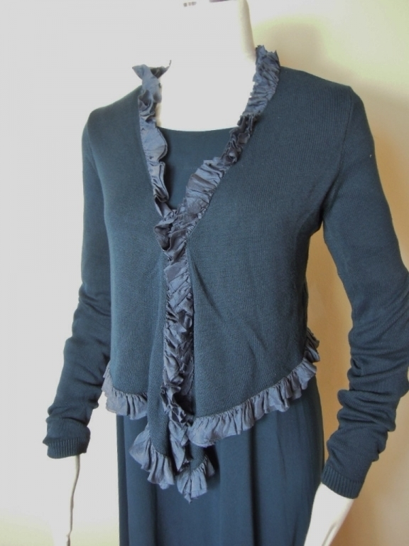 Out of Xile, Strickjacke 14276, petrol, Sale vorher € 109,-